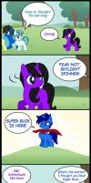 Super Buck Saves The Day by LeafFox