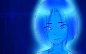 Cortana by YURIKONAME