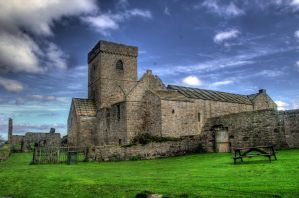 Inchcolm Abbey V by adischordantrhyme