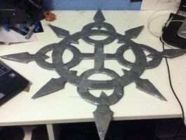 Cosplay WIP - Axel's Chakrams by Miscomunication