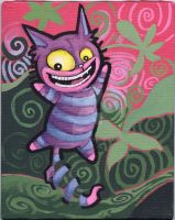 cheshire cat - painted by smushbox
