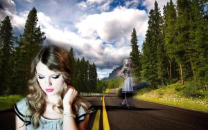 Wallpaper Taylor- Green by AnnieSerrano