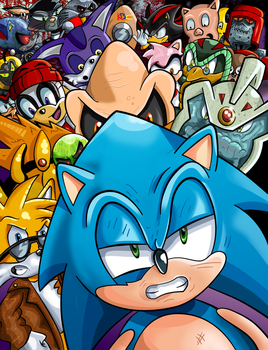 Sonic the Comic: Most Wanted by kintobor