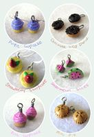 Tiny Tasty Food Charms by KatHart