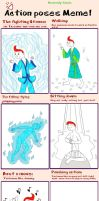 Tintin Action Poses Meme by TandP