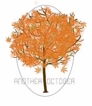 Another October Logo by purple-grey-fox