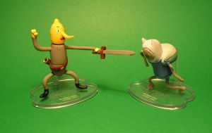 Lemongrab vs. Undead Finn by TheWarsman
