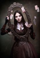 Alice in the frame by Isilmarille