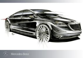 Mercedes Marker Rendering by mickeyd1o1