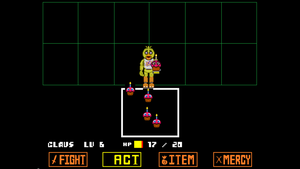 Chica undertale fight (PACIFIST) *READ DESCRIPTION by BenTheHybrid1