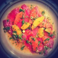 Ahi Crudo with Citrus Salad by ThomasVo