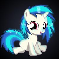 Filly Vinyl Scratch by AnEvilZebra