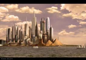 My First Matte Painting by de-urse