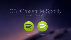 OS X Yosemite Spotify by JasonZigrino