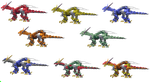 Zoid List Dra by Kardowin