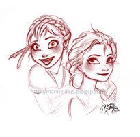 Sisters of Arendell by MarineElphie