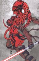 Darth Talon star wars by ChrisOzFulton