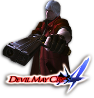 Devil may Cry 4 Dock Icon by XterryXbogardX