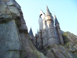 Hogwart's Castle up close by Dream-finder