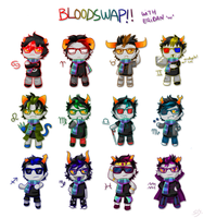 Eridan Bloodswap by StarTheYoshi