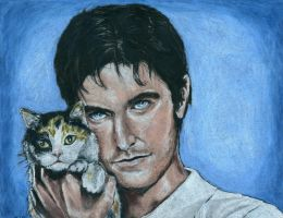 Richard Armitage and Calico by Evanoch