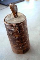 Small birch bark box by NightPhoenixArt