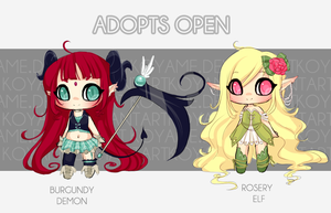 ADOPTABLES  :: AUCTION CLOSED by koyame