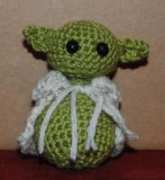 Yoda Amigurumi by No-Avail