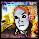 the Crowley Uncle Fester look Bald and Horrible by MushroomBrain