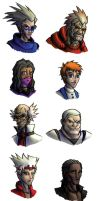 Mass Effect Human Aliens by dalubnie