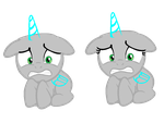 MLP Base - Filly and Colt - Scared by AraragiBases