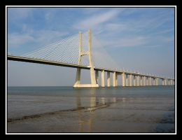 Vasco da Gama Bridge... by jotamyg