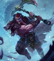 drarius League of Draven! by armice