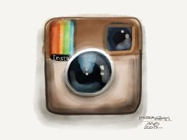 Instagram App Icon by digitalchet