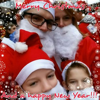 Merry Christmas and a happy New Year  by pascal-verhoef