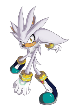 Silver the Hedgehog by Gem-n-Ems