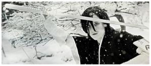 Vice Captain Rukia in the snow by surlycat