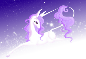 Unicorn of Inner Beauty by WhiteWing1