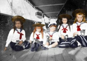 Little Sailors by Sonja-from-Finland