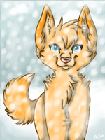 Snowy Day by wolfycatlover38