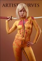 The Bride - Body Paint by oldmacman