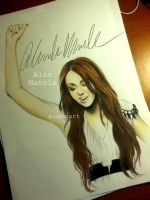 Miley by aleexart