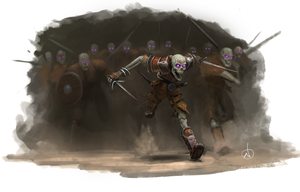 Skeletal Charge by NickDeSpain