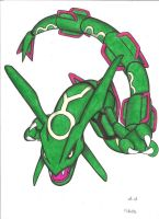 rayquaza by stefano-roca