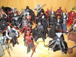 Star Wars Sith Action Figures 4 by DarthVaderXSnips
