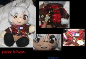 Peter White Plush by Naishopearl