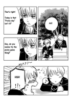 Let's play pocky game! pg.2 by Shigeruuu