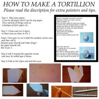 How to make a tortillion by edelric666