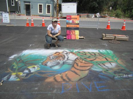 Kimball Arts Festival - Chalk Art 2012 by sugarpoultry