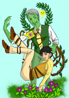 Hannibal - The plant and the gardener by FuriarossaAndMimma